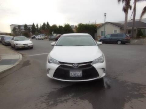 2015 Toyota Camry for sale at Top Notch Auto Sales in San Jose CA