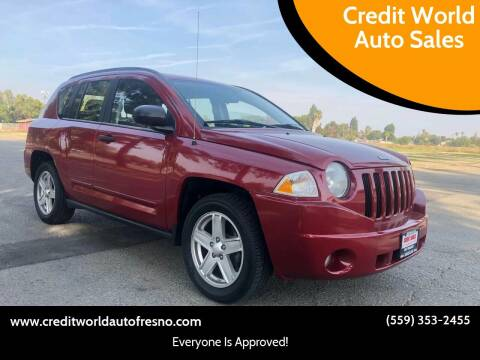 2010 Jeep Compass for sale at Credit World Auto Sales in Fresno CA