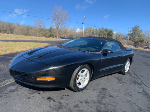 1995 Pontiac Firebird for sale at Gary Sears Motors in Somerset KY