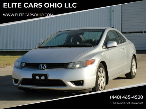 2008 Honda Civic for sale at ELITE CARS OHIO LLC in Solon OH