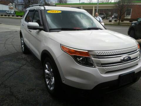2011 Ford Explorer for sale at BELLEFONTAINE MOTOR SALES in Bellefontaine OH