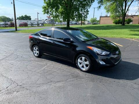 2012 Hyundai Elantra for sale at Dittmar Auto Dealer LLC in Dayton OH