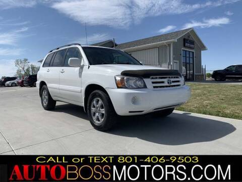 2005 Toyota Highlander for sale at Auto Boss in Woods Cross UT
