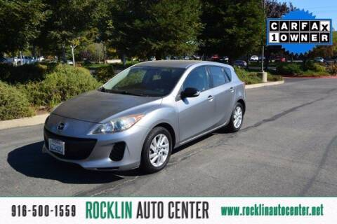 2013 Mazda MAZDA3 for sale at Rocklin Auto Center in Rocklin CA