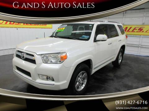 2012 Toyota 4Runner for sale at G and S Auto Sales in Ardmore TN