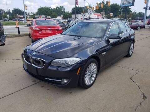2011 BMW 5 Series for sale at Madison Motor Sales in Madison Heights MI