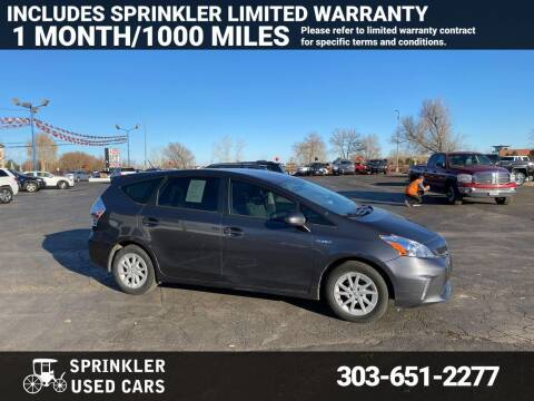 2014 Toyota Prius v for sale at Sprinkler Used Cars in Longmont CO
