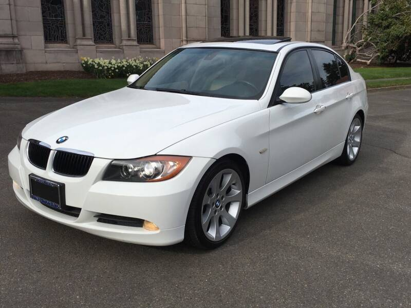 2007 BMW 3 Series for sale at First Union Auto in Seattle WA
