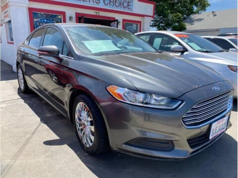 2016 Ford Fusion for sale at Dealers Choice Inc in Farmersville CA
