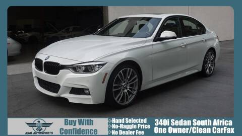 2017 BMW 3 Series for sale at ASAL AUTOSPORTS in Corona CA