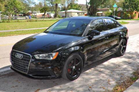 2016 Audi A3 for sale at INTERNATIONAL AUTO BROKERS INC in Hollywood FL