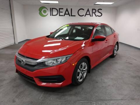 2018 Honda Civic for sale at Ideal Cars Broadway in Mesa AZ