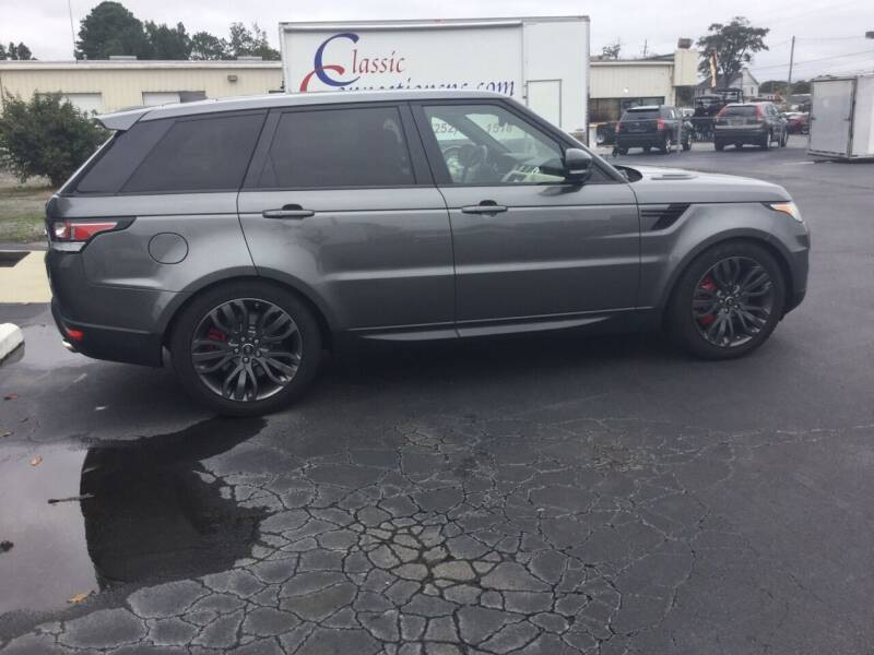 2017 Land Rover Range Rover Sport for sale at Classic Connections in Greenville NC