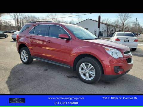 2015 Chevrolet Equinox for sale at Carmel Auto Group in Indianapolis IN