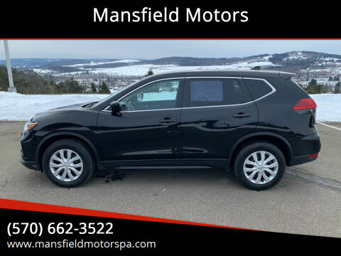 2017 Nissan Rogue for sale at Mansfield Motors in Mansfield PA