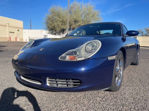 2002 Porsche Boxster for sale at Tucson Auto Sales in Tucson AZ