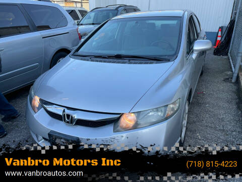 2010 Honda Civic for sale at Vanbro Motors Inc in Staten Island NY