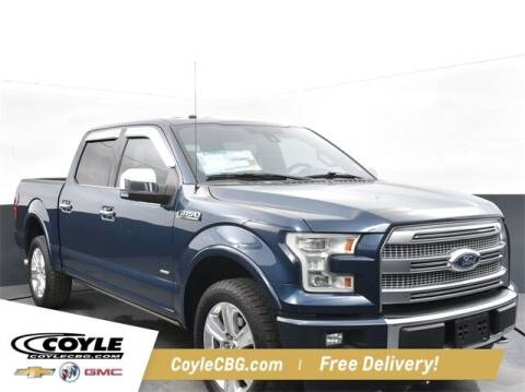 2017 Ford F-150 for sale at COYLE GM - COYLE NISSAN - New Inventory in Clarksville IN