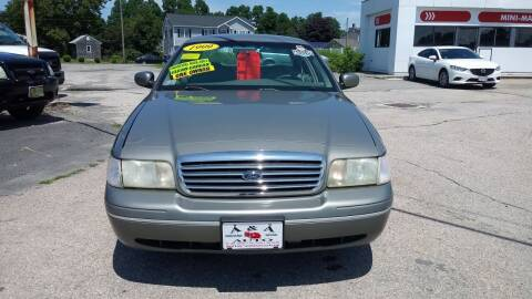 1999 Ford Crown Victoria for sale at A&A AUTO in Fairhaven MA