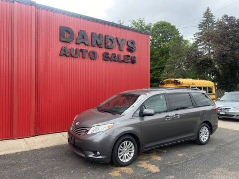 2016 Toyota Sienna for sale at Dandy's Auto Sales in Forest Lake MN