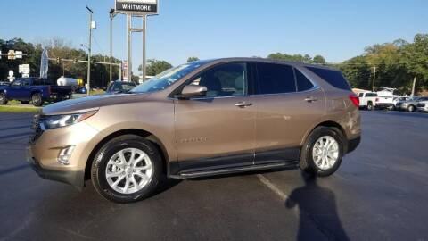 2018 Chevrolet Equinox for sale at Whitmore Chevrolet in West Point VA