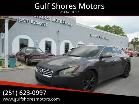 2012 Nissan Maxima for sale at Gulf Shores Motors in Gulf Shores AL
