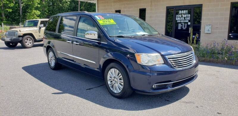 2013 Chrysler Town and Country for sale at 220 Auto Sales LLC in Madison NC