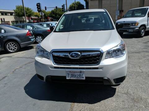 2015 Subaru Forester for sale at Auto City in Redwood City CA