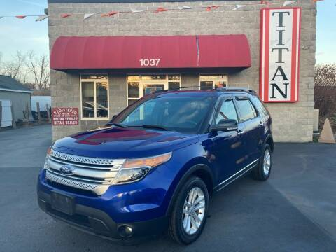 2013 Ford Explorer for sale at Titan Auto Sales LLC in Albany NY