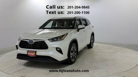 2020 Toyota Highlander Hybrid for sale at NJ State Auto Used Cars in Jersey City NJ