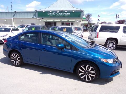2015 Honda Civic for sale at Jim O'Connor Select Auto in Oconomowoc WI