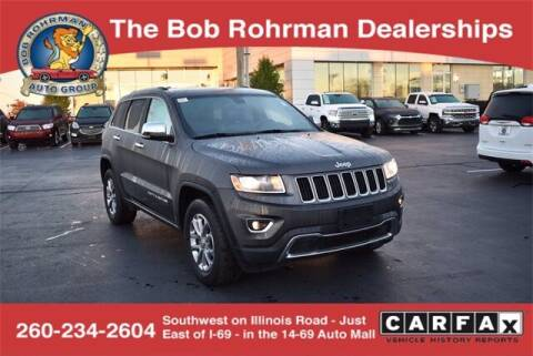 2014 Jeep Grand Cherokee for sale at BOB ROHRMAN FORT WAYNE TOYOTA in Fort Wayne IN