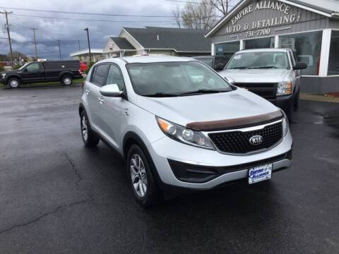 2014 Kia Sportage for sale at Empire Alliance Inc. in West Coxsackie NY