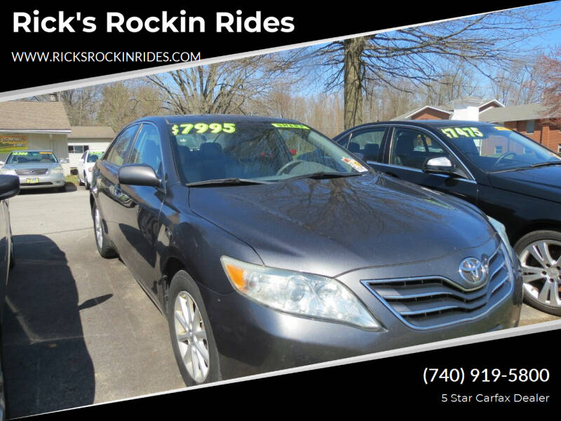 2010 Toyota Camry for sale at Rick's Rockin Rides in Reynoldsburg OH