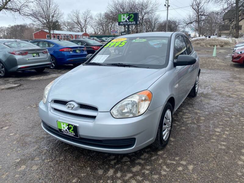 2007 Hyundai Accent for sale at BK2 Auto Sales in Beloit WI