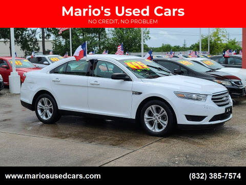 2015 Ford Taurus for sale at Mario's Used Cars in Houston TX