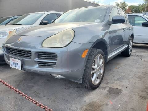 2005 Porsche Cayenne for sale at MCHENRY AUTO SALES in Modesto CA