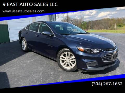 2018 Chevrolet Malibu for sale at 9 EAST AUTO SALES LLC in Martinsburg WV