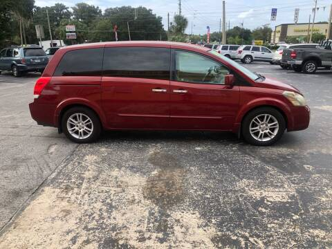 2008 Nissan Quest for sale at BSS AUTO SALES INC in Eustis FL