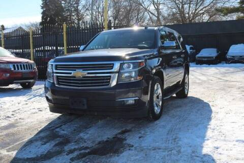 2016 Chevrolet Tahoe for sale at F & M AUTO SALES in Detroit MI
