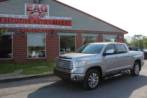 2017 Toyota Tundra for sale at EXECUTIVE AUTO GALLERY INC in Walnutport PA