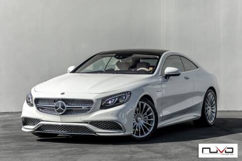 2016 Mercedes-Benz S-Class for sale at Nuvo Trade in Newport Beach CA