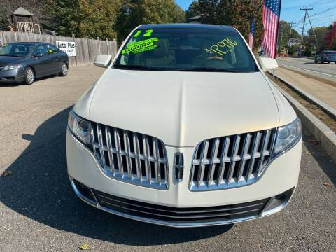2012 Lincoln MKT for sale at Auto Plus in Amesbury MA