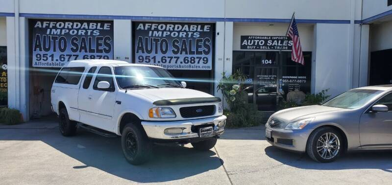 1997 Ford F-150 for sale at Affordable Imports Auto Sales in Murrieta CA