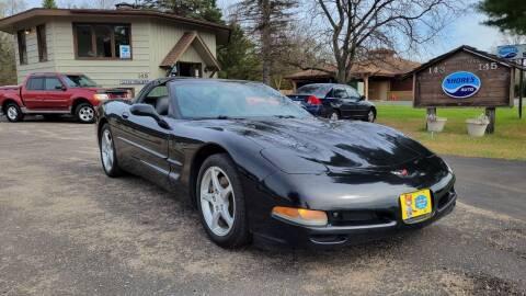 2002 Chevrolet Corvette for sale at Shores Auto in Lakeland Shores MN