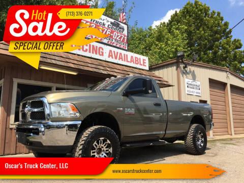 2015 RAM Ram Pickup 2500 for sale at Oscar's Truck Center, LLC in Houston TX