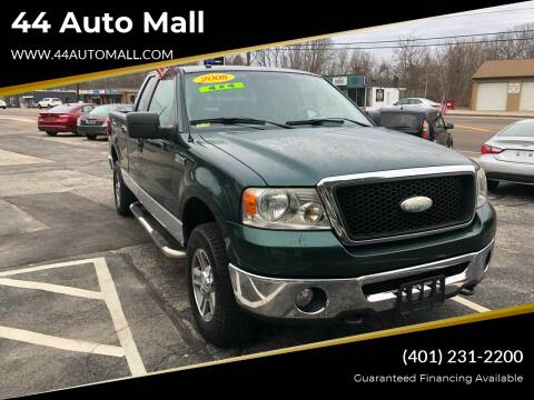 2008 Ford F-150 for sale at 44 Auto Mall in Smithfield RI