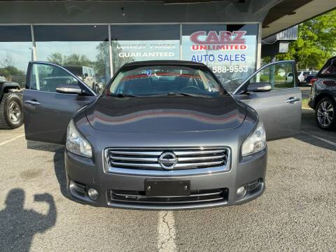 2014 Nissan Maxima for sale at Carz Unlimited in Richmond VA