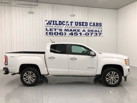 2015 GMC Canyon for sale at Wildcat Used Cars in Somerset KY