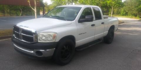 2007 Dodge Ram Pickup 1500 for sale at Georgia Fine Motors Inc. in Buford GA